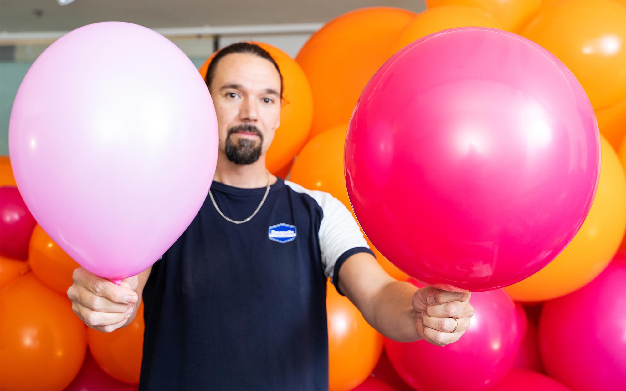 Heliumpallojen Täyttö